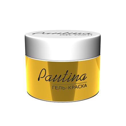 RuNail, Гель-краска Pautina, золотая фото