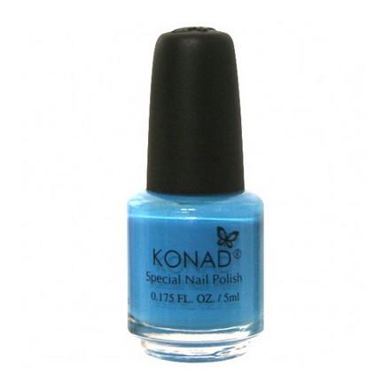 Konad, лак для стемпинга, цвет S21 Sky Pearl 5 ml (небесно-голубой), Синий  - Купить