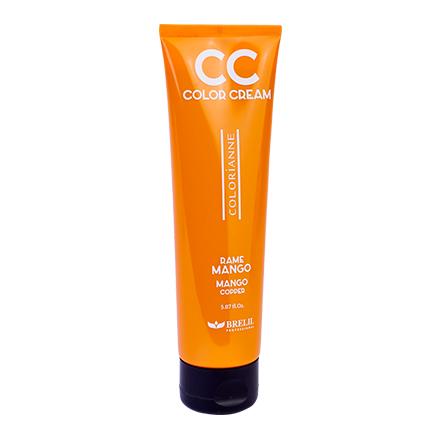Brelil Professional, Краситель CC Color Cream Mango, медныйКрасители прямого действия<br>Средство окрашивает, увлажняет и питает волосы одновременно. Объем: 150 мл.