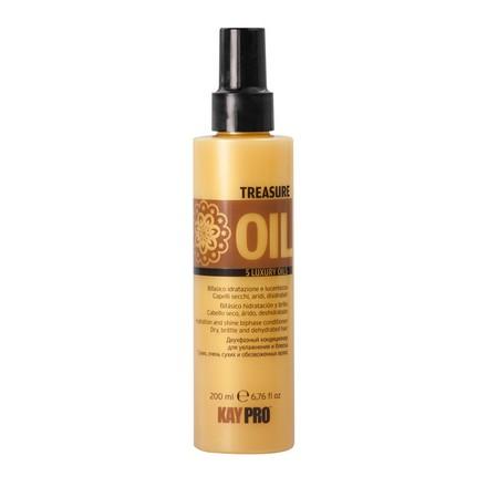 KAYPRO, Двухфазный кондиционер Treasure Oil, 200 млСпреи для волос <br>Смягчающее средство для волос на основе масел.