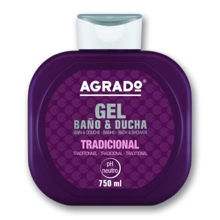 Agrado, Гель для душа «Традиционный», 750 мл