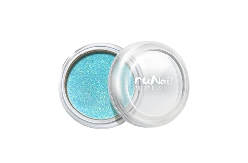 ruNail, дизайн для ногтей: пыль (небесно-голубой) runail дизайн для ногтей ракушки 0287