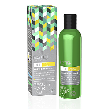 Estel, Шампунь-детокс Beauty Hair Lab, 250 млШампуни для волос<br>Шампунь, выводящий токсины. Эффективно ухаживает за ослабленными волосами.<br><br>Объем мл: 250.00
