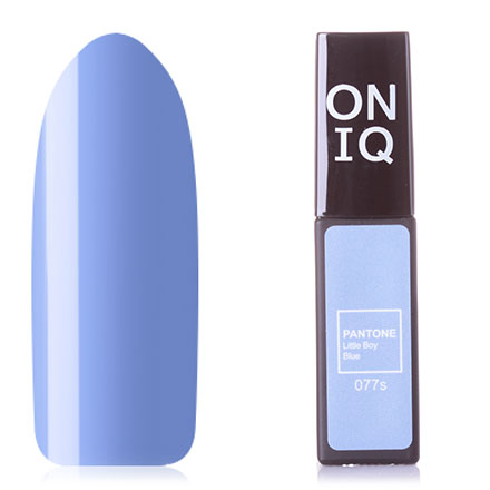 Купить ONIQ, Гель-лак Pantone №077s, Little Boy Blue, Синий