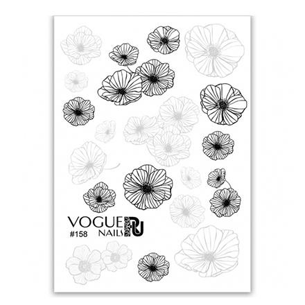 Купить Vogue Nails, Слайдер-дизайн №158