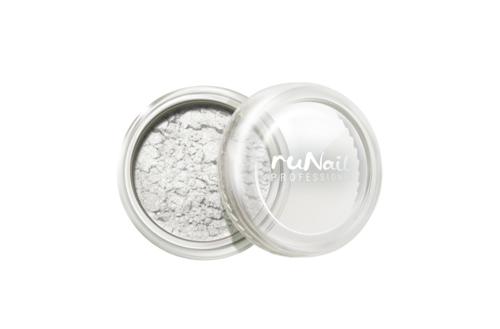 ruNail, Пигмент № 1163, серебристо-бежевый runail дизайн для ногтей ракушки 0284
