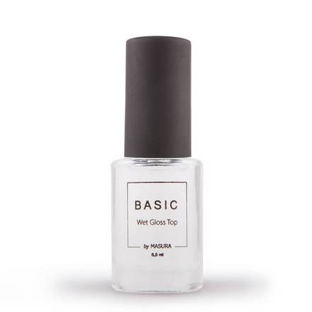 Masura, Топ для лака Basic Wet Gloss, 6,5 мл