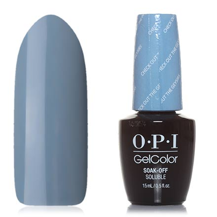 OPI GelColor, Гель-лак Iceland GCI60, Check Out the Old Geysirs подсветка iceland 2х40вт g9 металл стекло