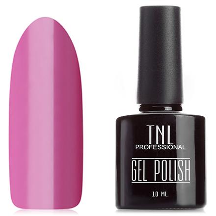 TNL, Гель-лак №19, Красновато-пурпурныйTNL трехфазный шеллак<br>Гель-лак (10 мл) пурпурно-розовый, без блёсток и перламутра, плотный.<br><br>Цвет: Розовый<br>Объем мл: 10.00