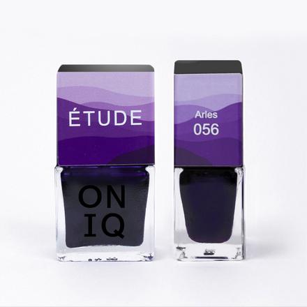 Купить ONIQ, Лак для ногтей Tryptich Etude №56, Arles, Фиолетовый