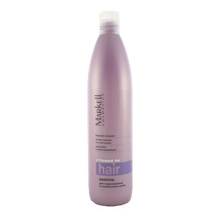 Markell, Шампунь для поврежденных и ослабленных волос «Professional», 500 мл