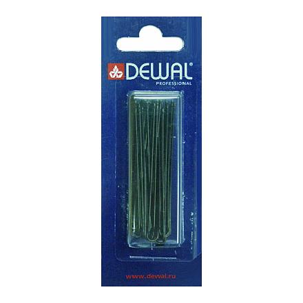 Купить Dewal, Шпильки прямые, черные, 60 мм, 24 шт.