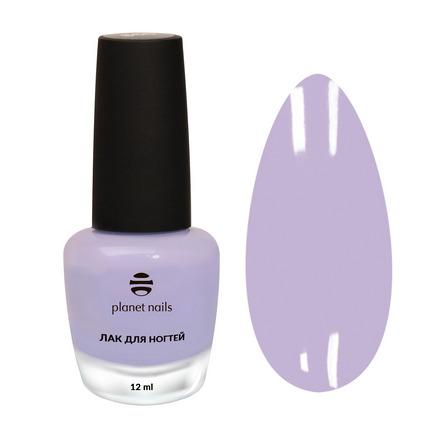 Planet Nails, Лак для ногтей №866 фиолетового цвета