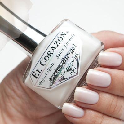 Купить El Corazon Лечебная Серия Цветной Биогель, № 423/057, Белый