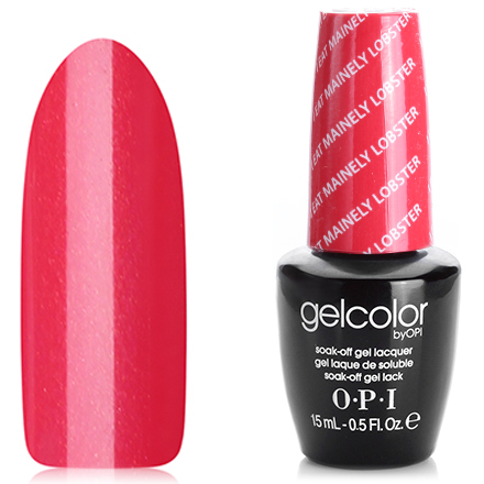 OPI GelColor, Гель-лак I Eat Mainely Lobster T30