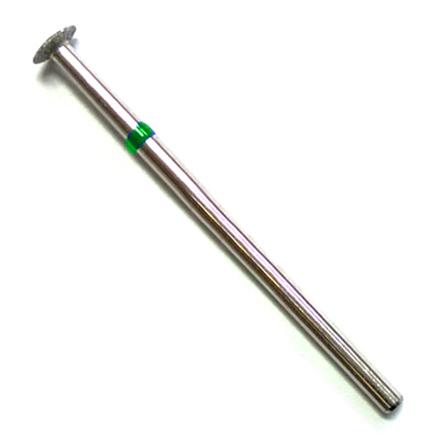 Алмазная насадка 109, 5 мм, зеленая (жесткая)