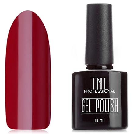 Купить TNL, Гель-лак №15, Темно-красный, TNL Professional, Красный