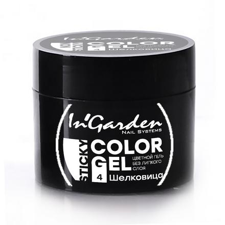 Купить In'Garden, Гель-краска для ногтей №04, Шелковица, Черный