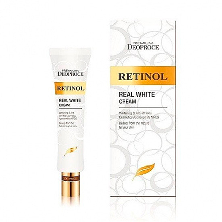 Deoproce, Крем для век Premium Retinol Real White, 40 мл