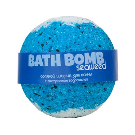 Купить Savonry, Бурлящий шарик для ванны Seaweed, 100 г