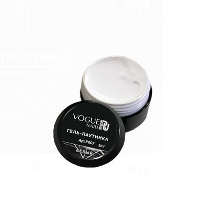 Купить Vogue Nails, Гель-краска «Паутинка», белый, Белый