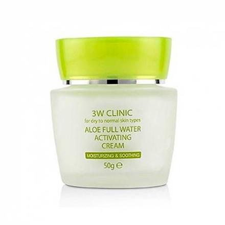 3W Clinic, Крем для лица Aloe, 50 гр