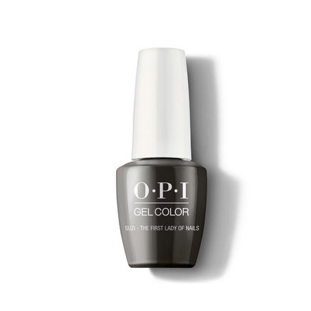 Купить OPI, Гель-лак Suzi - The First Lady Of Nails, Серый