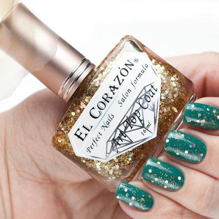 El Corazon Art Top Coat, Gold Leaf № 421/9