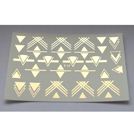 Freedecor, Слайдер-дизайн F17-01, золото freedecor слайдер дизайн f18 01 золото