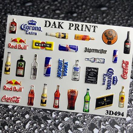 Купить Dak Print, 3D-слайдер №494