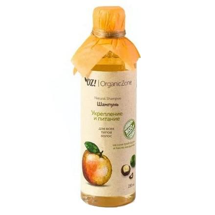 Купить OrganicZone, Шампунь «Укрепление и питание», 250 мл