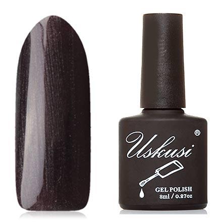 Uskusi, Гель-лак №357Uskusi<br>Гель-лак (8 мл) черный, с перламутром, плотный.<br><br>Цвет: Черный<br>Объем мл: 8.00