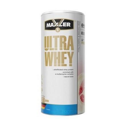 Maxler, Протеин Ultra Whey, белый шоколад с малиной, 450 г