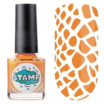 Купить IRISK, Лак-краска для стемпинга Classic №007, Оранжевый