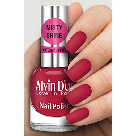Купить Alvin D`or, Лак Misty shine №543, Alvin D'or, Красный