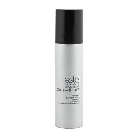 Estel, Спрей-вуаль Always On-Line, для придания бриллиантового блеска волосам, 250 мл