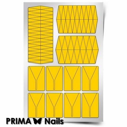 Prima Nails, Трафареты «Клинки» цена
