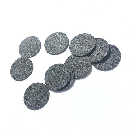 Купить Atis Professional, Сменные файлы для педикюрных дисков Black, D=10, 180 грит, 60 шт.