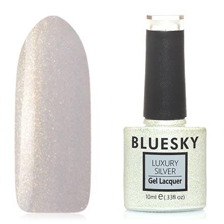 Купить Bluesky, Гель-лак Luxury Silver №389, Белый