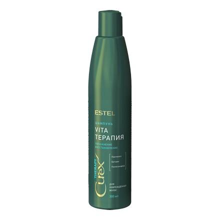 Estel, Шампунь CUREX THERAPY для сухих волос, 300 млШампуни для волос<br>Шампунь для интенсивного ухода за поврежденными волосами, волосами после перманентной завивки и окрашивания.