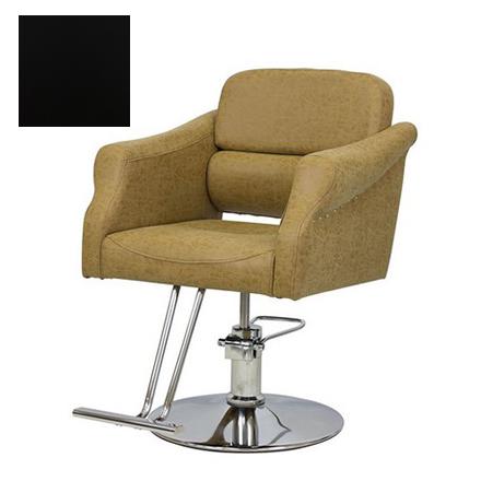Купить Мэдисон, Кресло парикмахерское «МД-370» гидравлическое, хромированное, черное