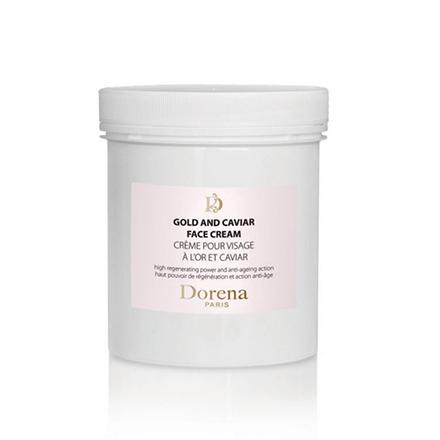 Dorena, Крем для лица с экстрактом черной икры Gold, 500 мл