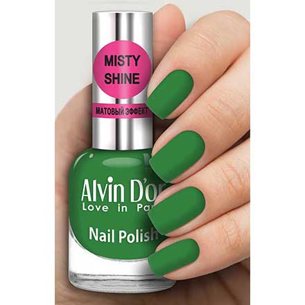 Купить Alvin D`or, Лак Misty shine №528, Alvin D'or, Зеленый