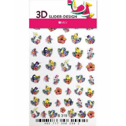 Купить Milv, 3D-слайдер B319