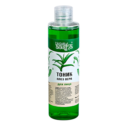 Купить Aasha Herbals, Тоник с алоэ вера для лица, 200 мл