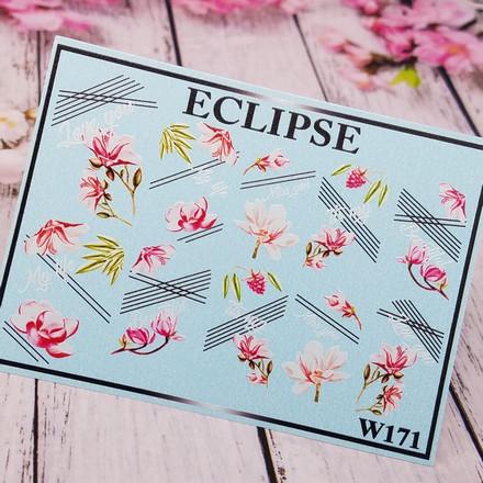 Eclipse, Слайдер-дизайн для ногтей W №171  - Купить