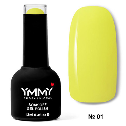 Купить YMMY Professional, Гель-лак «Африканские мотивы» №001, Желтый