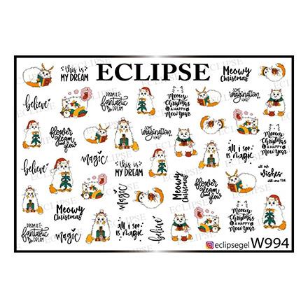 Купить Eclipse, Слайдер-дизайн для ногтей W №994