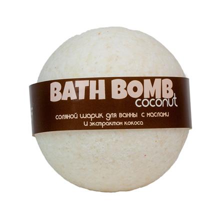 Купить Savonry, Бурлящий шарик для ванны Coconut, 100 г