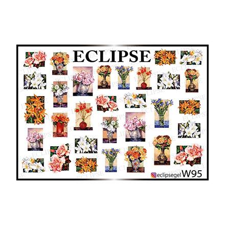 Купить Eclipse, Слайдер-дизайн для ногтей W №95